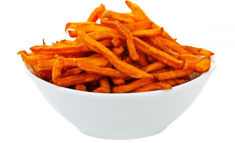 Chips de boniato sin freír